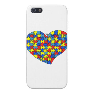 Autism Heart Covers For iPhone 5