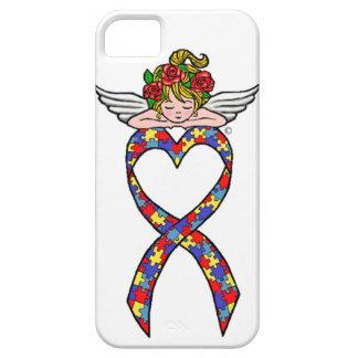 Autism Heart Ribbon Angel iPhone 5 Case
