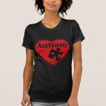 Autism Heart Tee Shirts