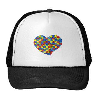 Autism Heart Trucker Hat