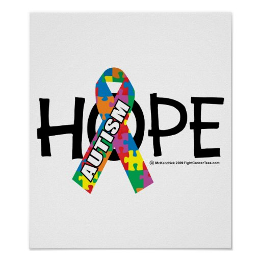 Autism Hope 3 Poster