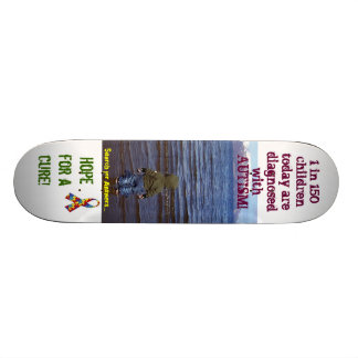 Autism- Hope for recovery Skateboard