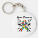 Autism Hope Matters Key Chain