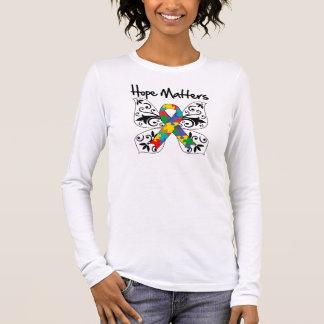 Autism Hope Matters Long Sleeve T-Shirt