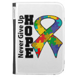 Autism Hope Never Give Up Kindle Keyboard Cases