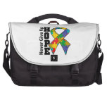 Autism Hope Never Give Up Laptop Computer Bag