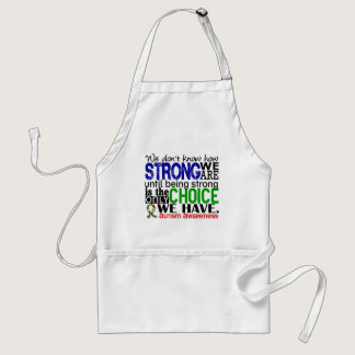 Autism How Strong We Are Adult Apron