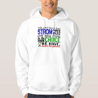 Autism How Strong We Are Hooded Pullover