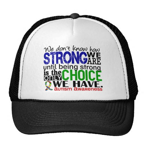 Autism How Strong We Are Trucker Hat