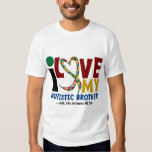 AUTISM I Love My Autistic Brother 2 Tees