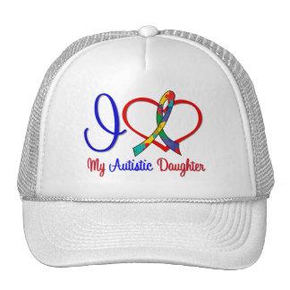 Autism I Love My Autistic Daughter Trucker Hat