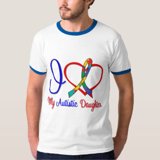 Autism I Love My Autistic Daughter T-shirt
