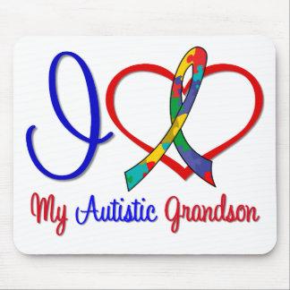 Autism I Love My Autistic Grandson Mouse Pad