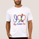 Autism I Love My Autistic Son T-Shirt