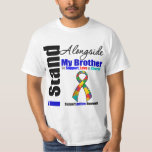 Autism I Stand Alongside My Brother Tees