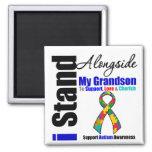 Autism I Stand Alongside My Grandson Magnet