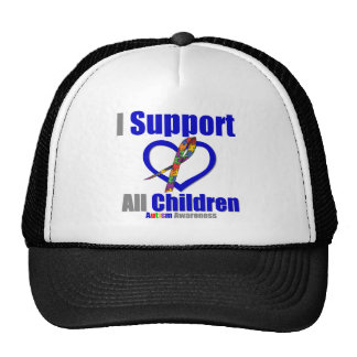 Autism I Support All Trucker Hat