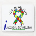 Autism I Support My Granddaughter Mouse Pad