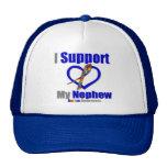 Autism I Support My Nephew Mesh Hat