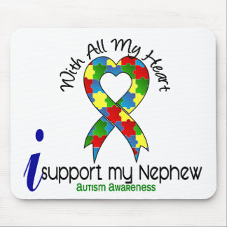 Autism I Support My Nephew Mouse Pad