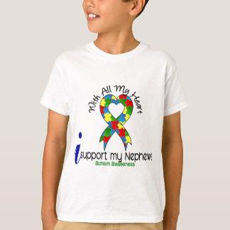 Autism I Support My Nephews T-Shirt