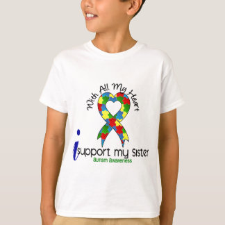 Autism I Support My Sister T-Shirt