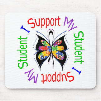 Autism I Support My Student Mouse Pad