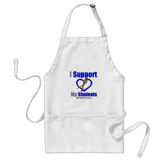 Autism I Support My Students Adult Apron