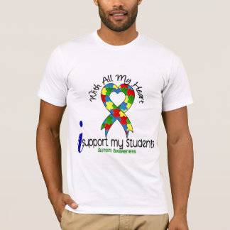 Autism I Support My Students T-Shirt