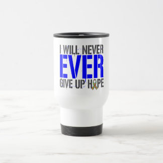 Autism I Will Never Ever Give Up Hope Mugs