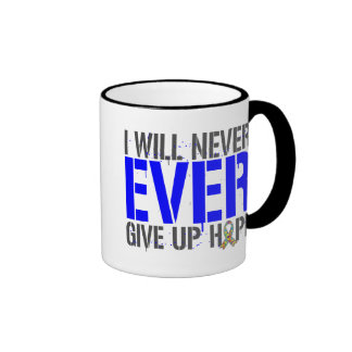 Autism I Will Never Ever Give Up Hope Coffee Mug