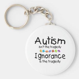Autism Ignorance Keychain
