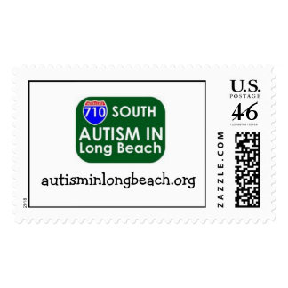 Autism in Long Beach Stamp