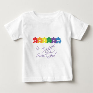 Autism is a gift from god t-shirt