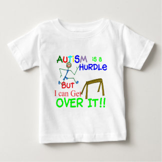 Autism is a Hurdle-Boy Baby T-Shirt