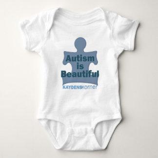 Autism is beautiful baby bodysuit