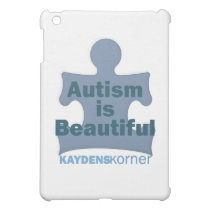 Autism is beautiful cover for the iPad mini