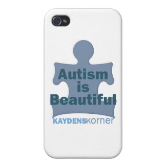 Autism is beautiful iPhone 4 cases