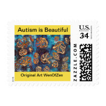 Autism is Beautiful Postage