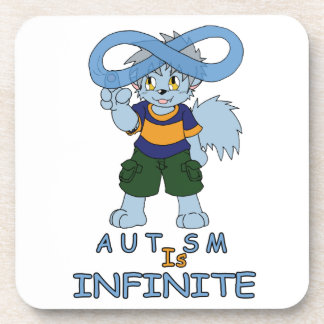 Autism is Infinite Corkback Coaster