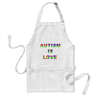 Autism is Love Aprons
