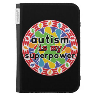 Autism is My Super Power Kindle Covers