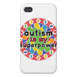 Autism is My Super Power iPhone 4 Cases