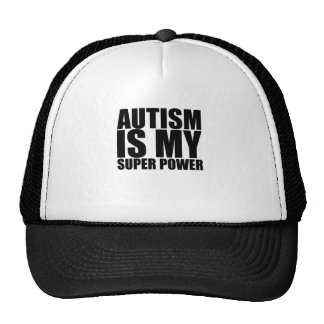 Autism Is My Super Power!.png Trucker Hat