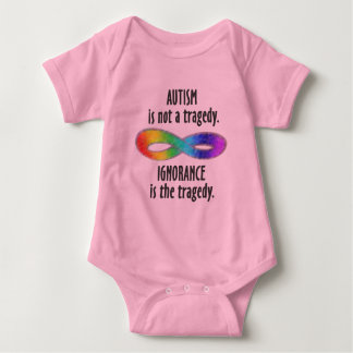 Autism is Not a Tragedy Baby Bodysuit