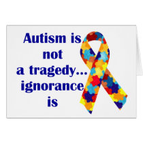 Autism is not a tragedy, ignorance is
