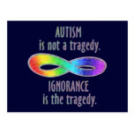Autism is Not a Tragedy Postcards