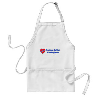 Autism Is Not Contagious Aprons