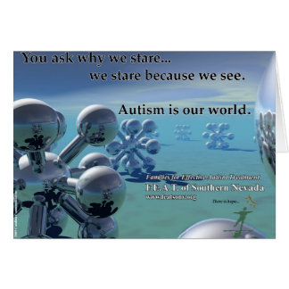 Autism is our World cards