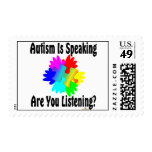 Autism Is Speaking Are You Listening? Stamps